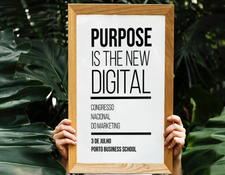 Conferência: Purpose is the new digital